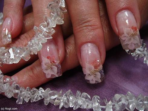 Дизайн ногтей свадебный фото
