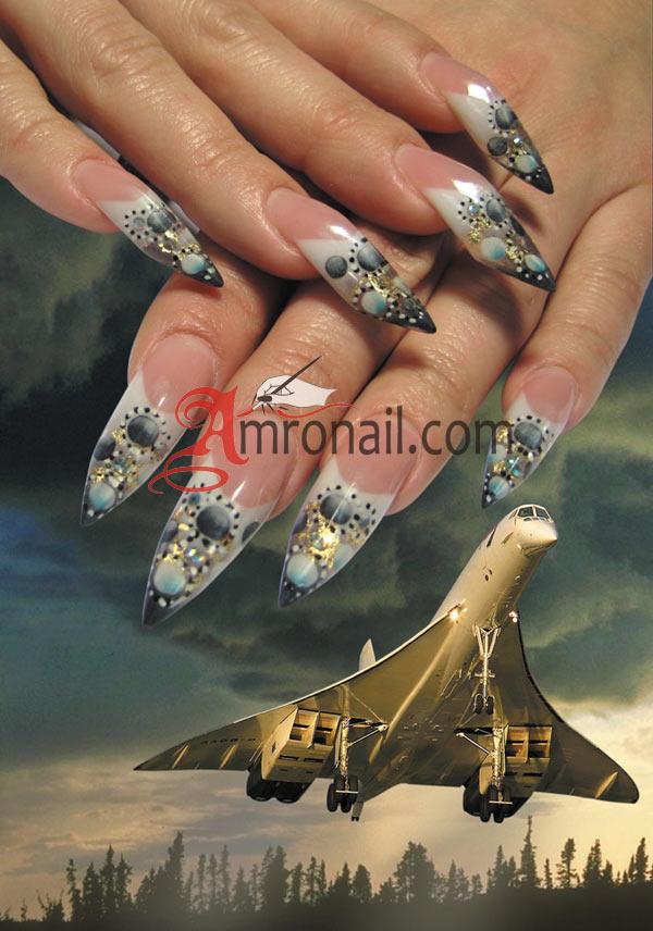 Дизайн формы ногтя