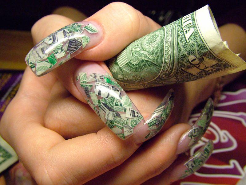 Фото нарощенных ногтей дизайном