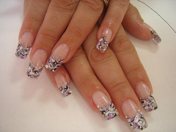 Дизайн гелевых ногтей фото о ногтях
