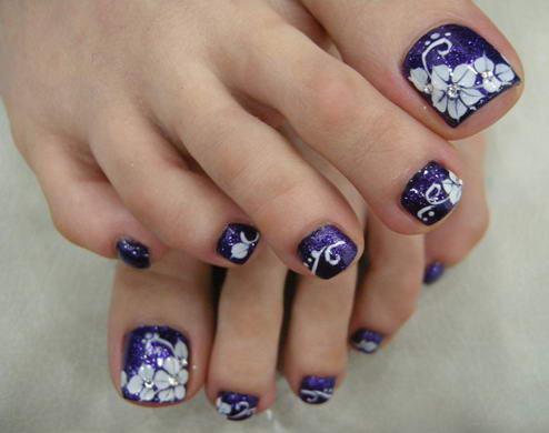 рисунки рук и ногтей