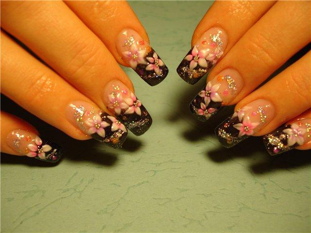 Нарощенные ногти рисунки и дизайн