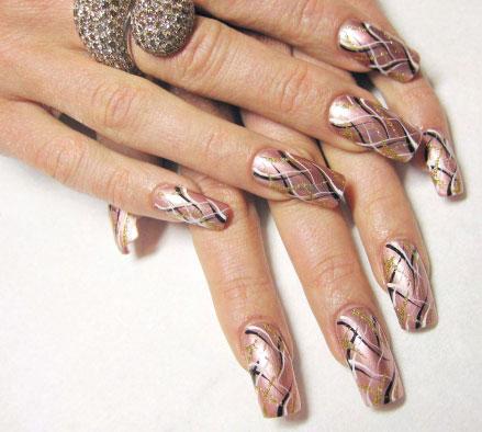 Рисунки на нарощенных ногтях (фото) | О ...: www.onogtyax.ru/dizayn-nogtey/risunki-na-naroshhennyih-nogtyah-foto...