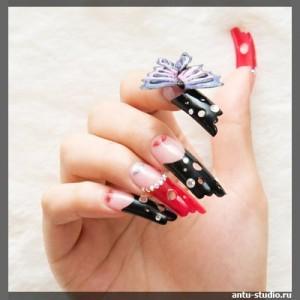 Трехмерный дизайн ногтей