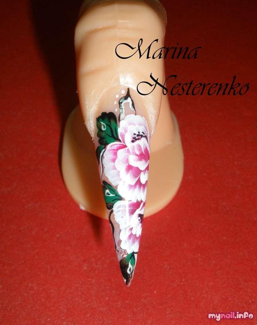 видео уроки дизайн ногтей акриловыми красками - Тюменский ...