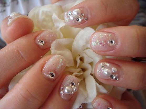 Маникюр на коротких ногтях (фото) .