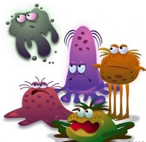 Под нашими ногтями скапливаются бактерии и микробы