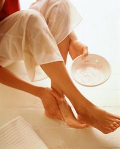 Балуйте свои ножки различными питательными средствами
