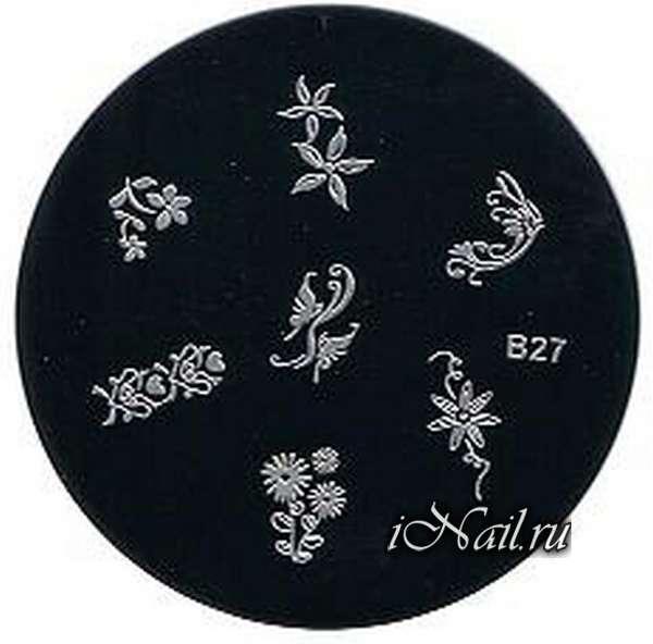 Специальные трафареты для нейл арта помогут даже дома создать необыкновенный дизайн ногтей